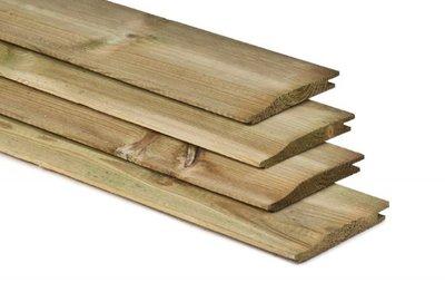 Rabat planken 19 x 145 diverse lengtes
