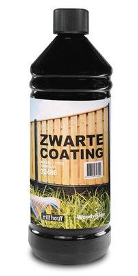 Fles zwarte coating