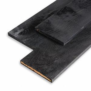 Planken 22 x 200 x 4200 fijnbezaagd zwart