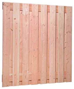 Douglas plankenscherm geschaafd 1800 x 1800