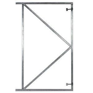 Verstelbare poortframe verzinkt