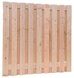 Douglas plankenscherm 19 planks geschaafd recht verticaal