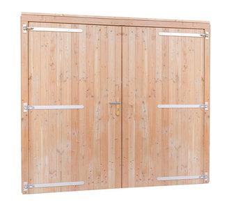 Douglas dubbele deur extra breed